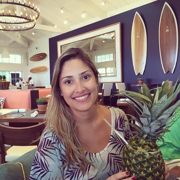 Tamara em Palm Beach Blog Vem Por Aqui