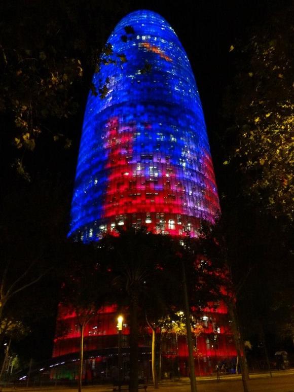 Torre de Agbar Blog Vem Por Aqui