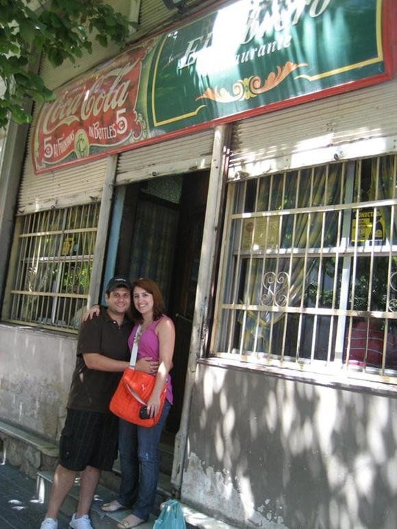 Fachada do Obrero, restaurante de Buenos Aires Blob Vem Por Aqui