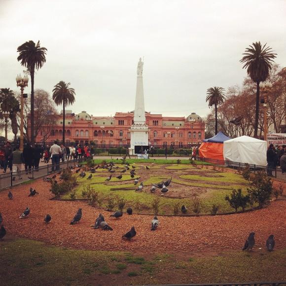 Casa Rosada, Buenos Aires Blog Vem Por Aqui