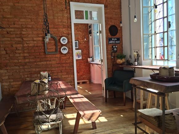 Recepção da fábrica aberta do Café Américo em Belo Horizonte