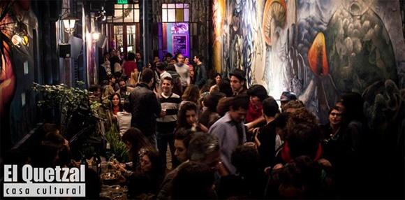 Bar El Quetzal em Buenos Aires Blog Vem Por Aqui