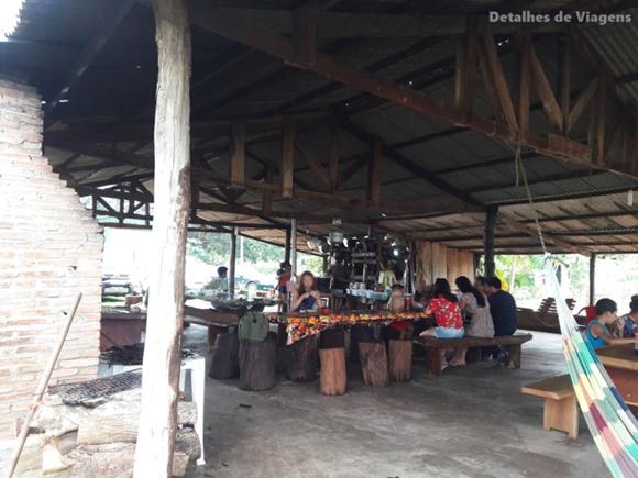 O pessoal do Detalhes de Viagens registrou a simplicidade do Restaurante do Chapolin em foto.