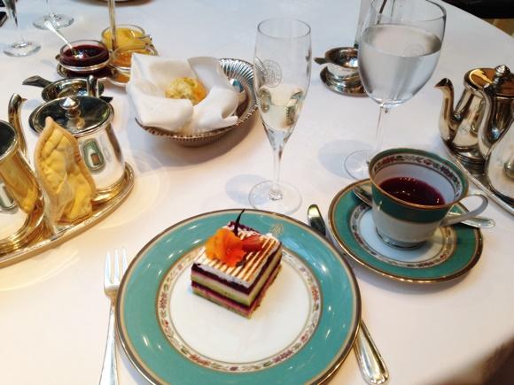 Torta do chá do Hotel Alvear Blog Vem Por Aqui