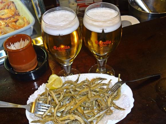 Peixe frito e cerveja do Bar Jai-Ca Blog Vem Por Aqui