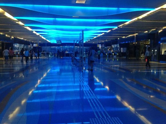Estação de metrô de Dubai Blog Vem Por Aqui