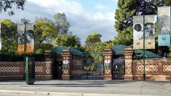 Frente do zoológico de Adelaide