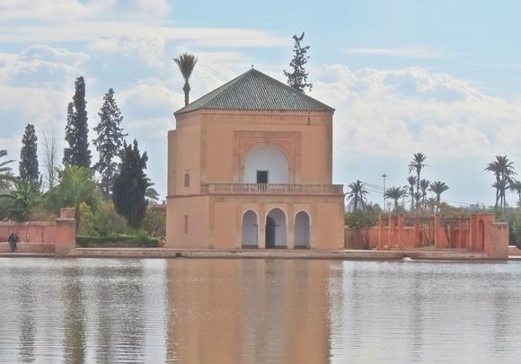 Pavilhão do Jardim de Menara Blog Vem Por Aqui