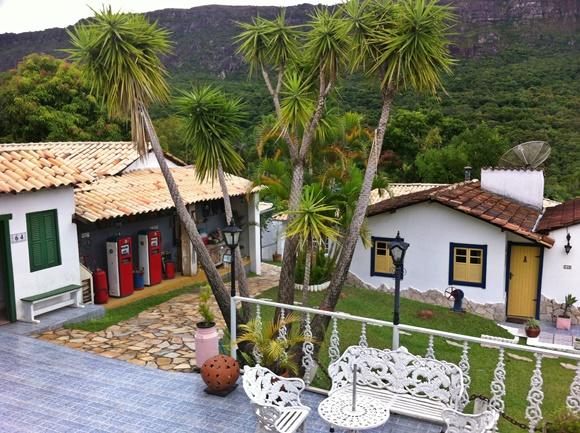 Chalés da pousada Hospedaria da Villa Blog Vem Por Aqui