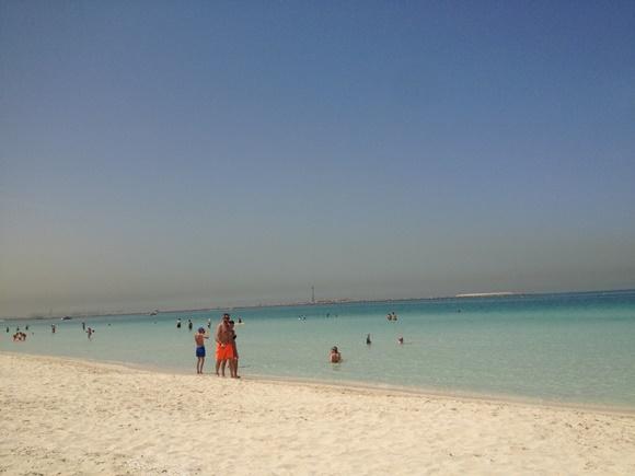 Kite beach - praia de Dubai Blog Vem Por Aqui