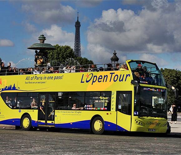 Onibus de turismo de Paris Blog Vem Por Aqui