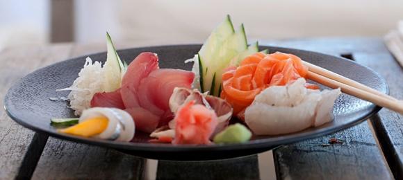 Prato de sushi Blog Vem Por Aqui
