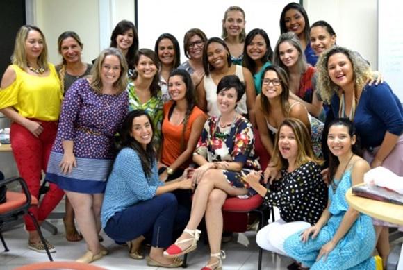 Primeira turma de consultoria de estilo da Ana no Senac Blog Vem Por Aqui