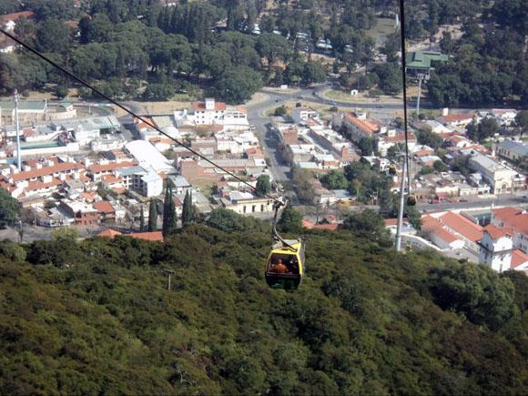 Teleférico do Cerro San Bernardo Blog Vem Por Aqui