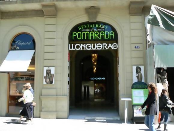 Entrada do restaurante Pomarada Blog Vem Por Aqui