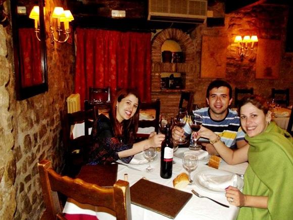 Erika Igor e Luciana no El Bodegon Blog Vem Por Aqui