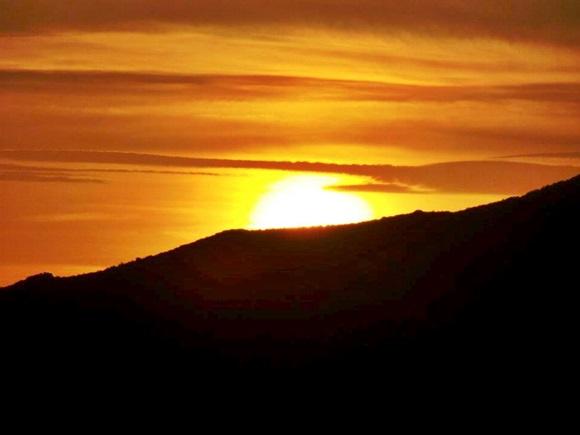 Por do sol em Laguardia Blog Vem Por Aqui