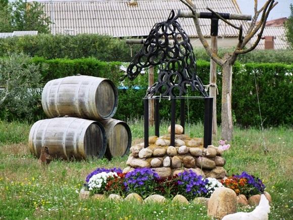 Cavalo de ferro e barris de vinho Blog Vem Por Aqui