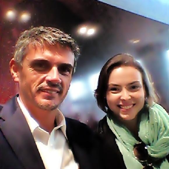O chef Christophe Adam e Mariana Correa Blog Vem Por Aqui
