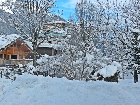 Casa nevada na Suíça Blog Vem Por Aqui