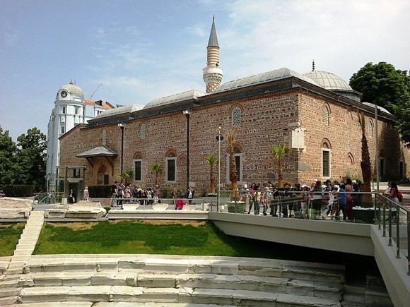 Mesquita de Plovdiv Blog Vem Por Aqui
