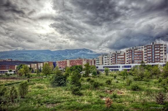 Dia nublado em Sófia Blog Vem Por Aqui