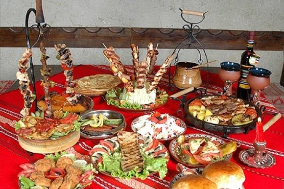 Banquete búlgaro do site Receitas da Bulgária Blog Vem Por Aqui