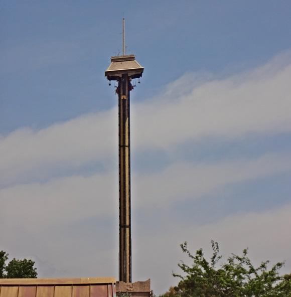 Elevador de queda livre do parque PorAventura Blog Vem Por Aqui