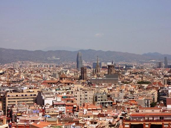 Vista de Barcelona Blog Vem Por Aqui