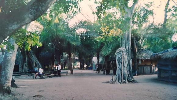 Acampamento no meio das árvores, no Pantanal Blog Vem Por Aqui