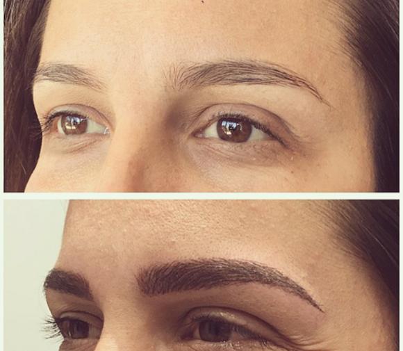 Antes e depois de sobrancelhas feitas na Kiko Blog Vem Por Aqui