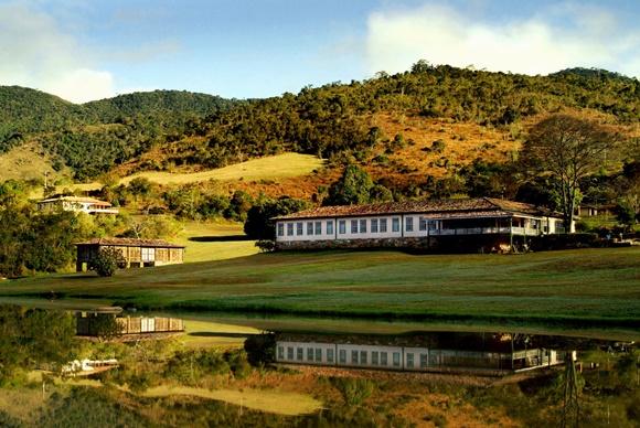 Vista do hotel Reserva do Ibitipoca Blog Vem Por Aqui