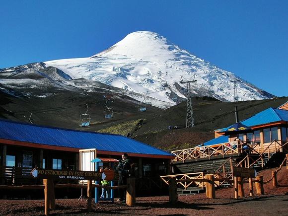 Estação de esqui de Puerto Varas, à beira do vulcão Blog Vem Por Aqui