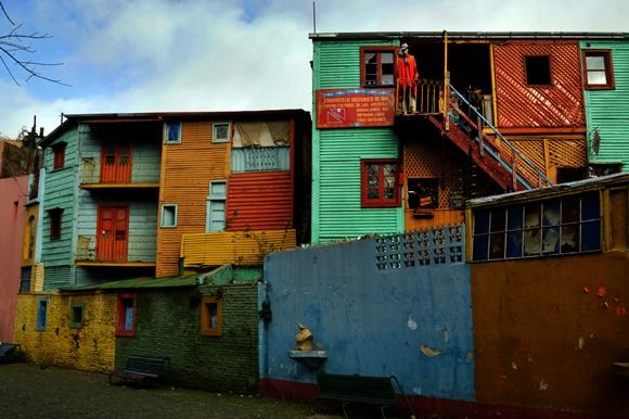 Casinhas coloridas de La Boca Blog Vem Por Aqui