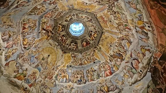 Pinturas da cúpula Blog Vem Por Aqui