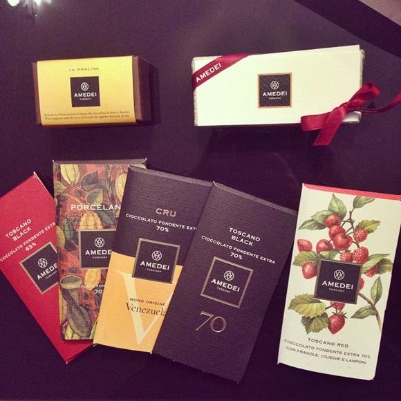 Chocolates variados na marca Blog Vem Por Aqui