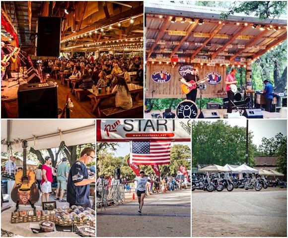 Montagem com fotos de show interno, externo, de feira, de final de corrida e de motos Blog Vem Por Aqui