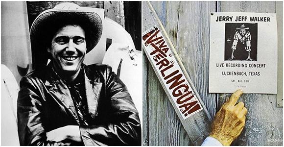 Mosaico com foto de Jeff em preto e branco sorrindo de braço cruzado e montagem com madeira com nome do disco pintado e cartaz tipo anunciando o show Blog Vem Por Aqui