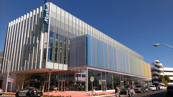 Fachada da loja Marshalls na Lincoln Avenue em Miami Blog Vem Por Aqui