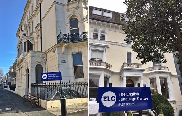 Fachada da escola de Brighton e de Eastbourne Blog Vem Por Aqui