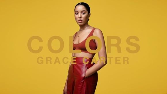 Foto de divulgação do show Colors com Grace CarterBlog Vem Por Aqui
