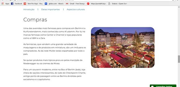 Página sobre compras na Alemanha Blog Vem Por Aqui